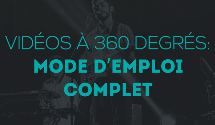 Vidéos à 360 degrés: mode d'emploi complet