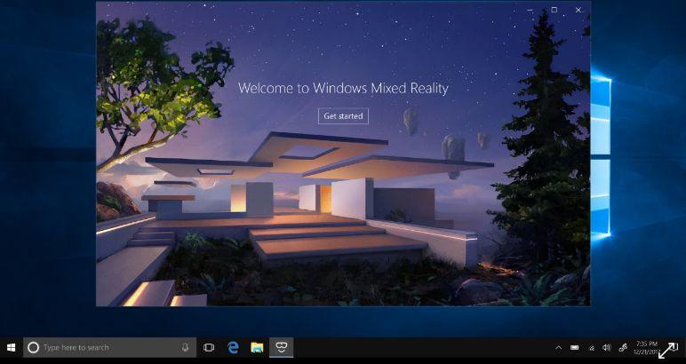 réalité mixte windows