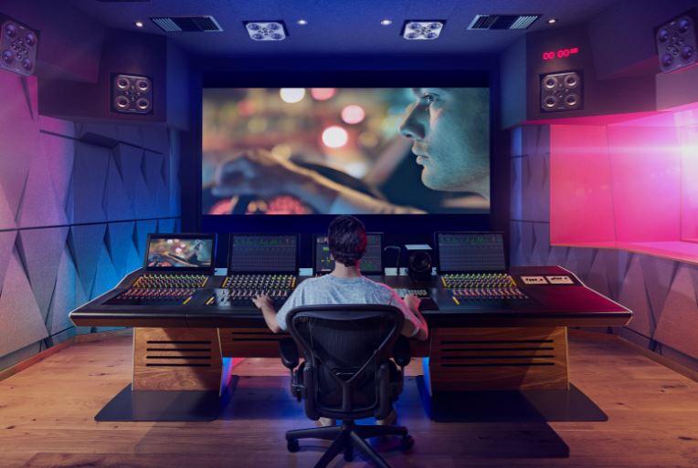 Studio creatif représentant DaVinci Resolve Pro