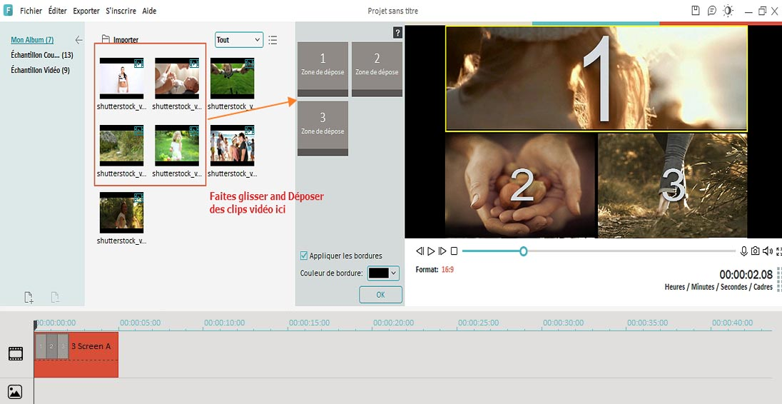 add video by side