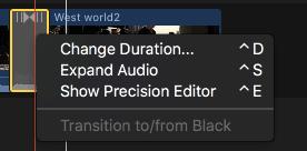 Change duration