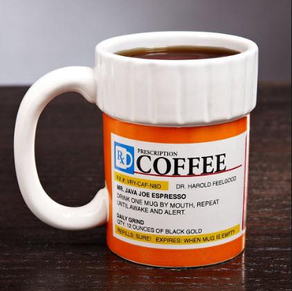 cadeaux pour la fête des pères tasse à café