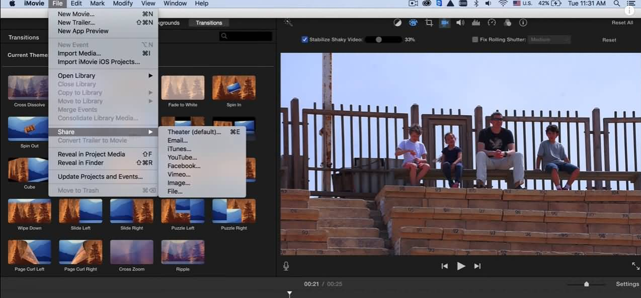 imovie-export-to-vimeo