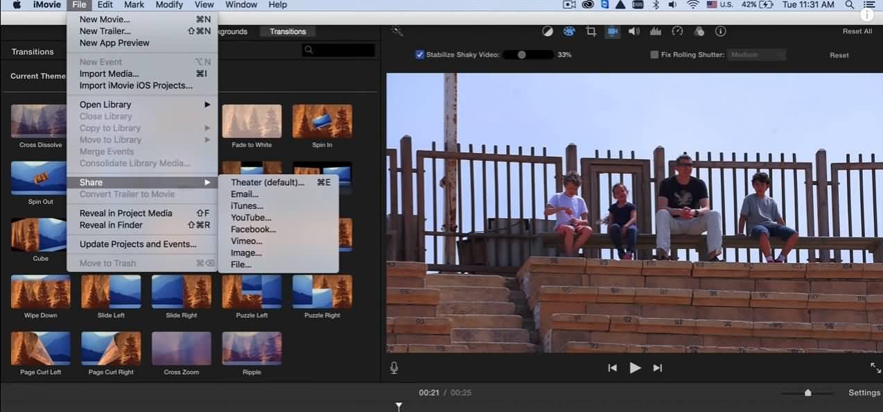 imovie-export-to-vimeo