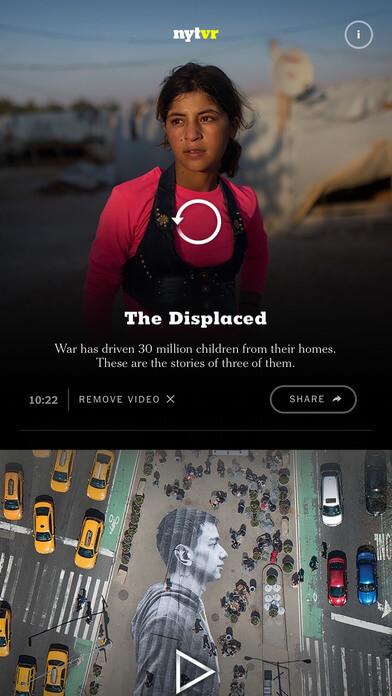 NYT VR app screenshot