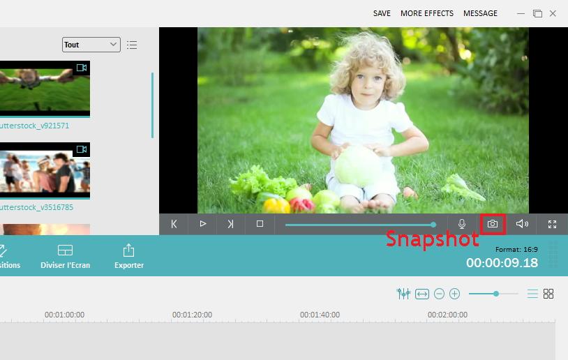 Capture d'écran vidéo pour Mac OS
