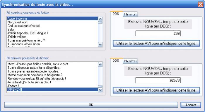 Editeur de vidéo Time Adjuster