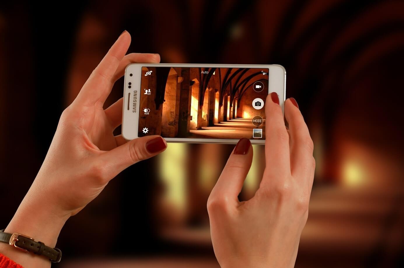 réaliser de belles photos avec smartphone