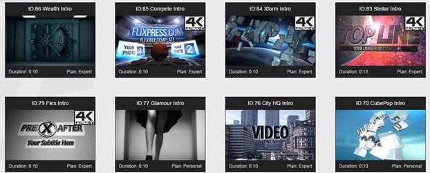 intro youtube avec FlixPress