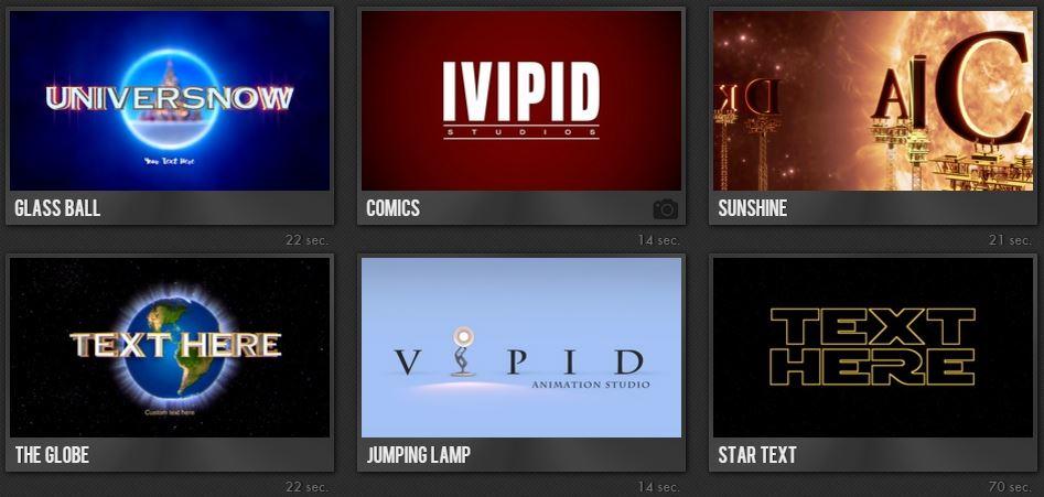 faire une intro YouTube avec iVidIP