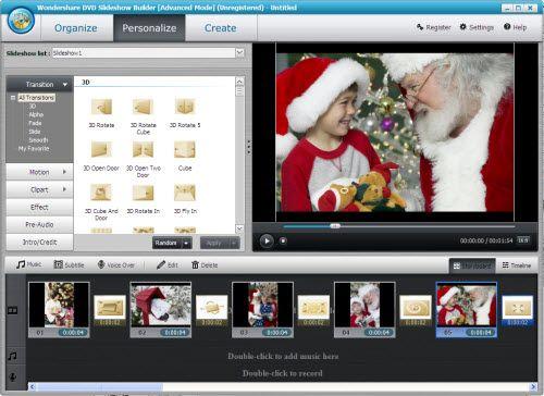 créer un film avec des photos