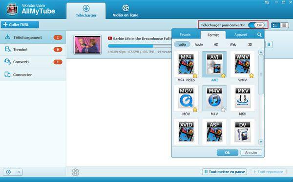 Dailymotion en MP4 pour Windows, Mac et appareils portables