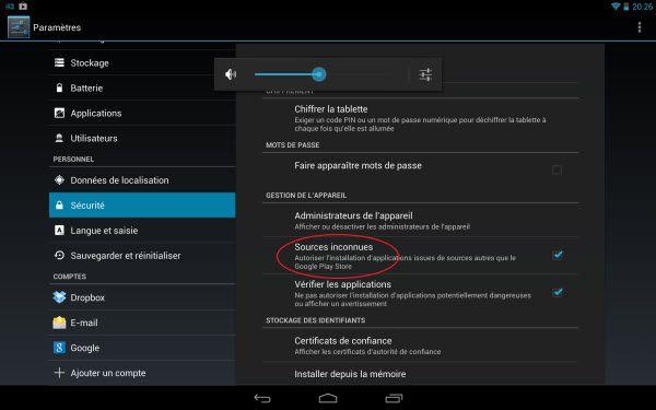 Flash Player pour Nexus 7: Comment lire des vidéos flash sur Nexus 7