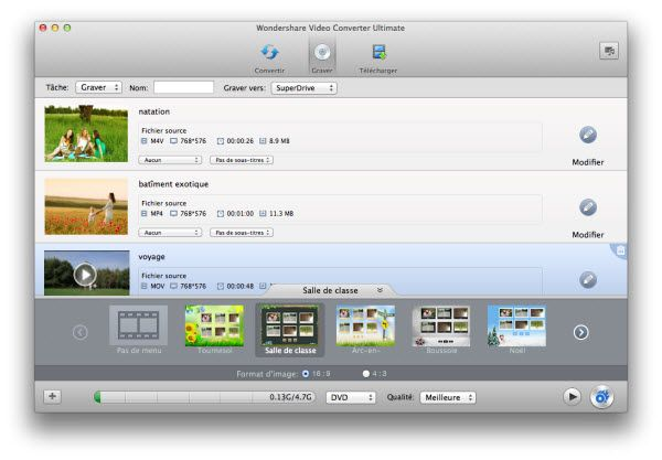Une alternative Format Factory qui fonctionne sur Mac OS