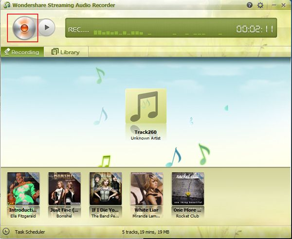 convert streaming audio to MP3