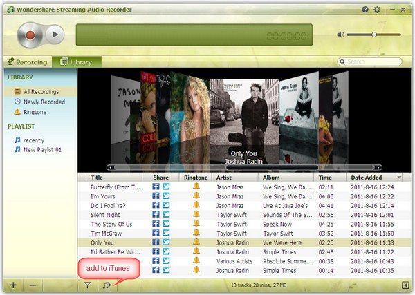 Grooveshark to CD