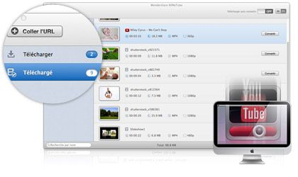 AllMyTube pour Mac key feature