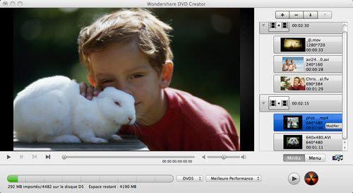 graver dvd sur mac