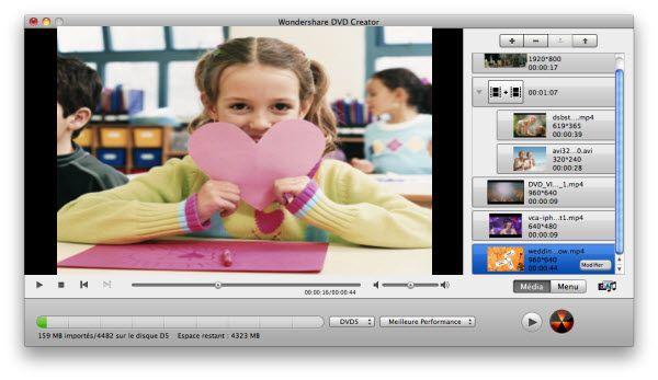 Nero pour Mac ? Téléchargez le meilleure alternative à Nero pour Mac