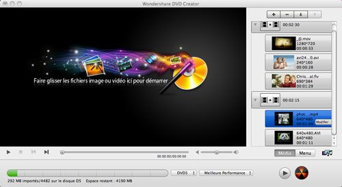 Comment graver une vidéo AVI sur un DVD sous Mac