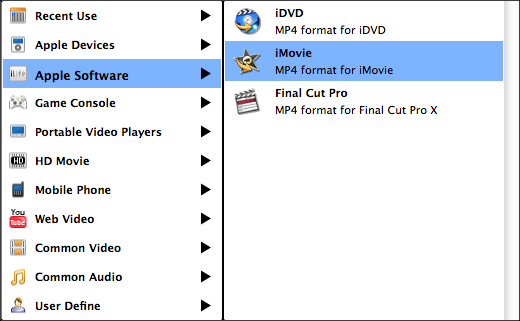 mpg to iMovie converter