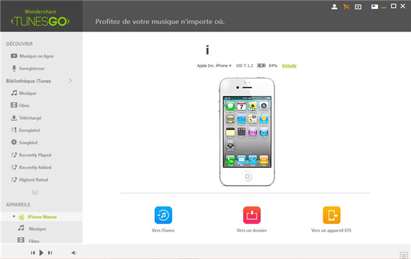 musique PC vers iPod touch