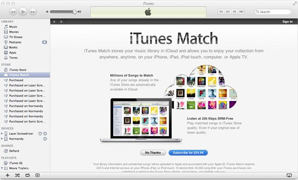 Des conseils sur Apple Music Match