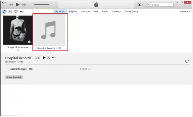La Bibliothèque musicale d'Apple