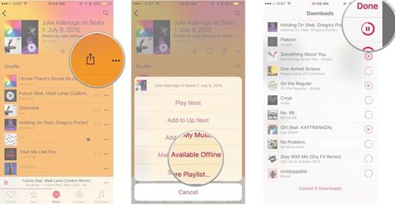 Télécharger de la musique gratuitement sur Apple music