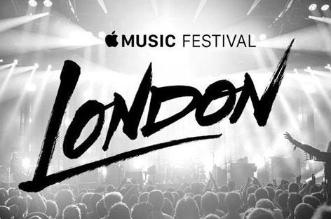 """Le festival """"Apple Music"""" (iTunes Music festival), Londres 2015"""