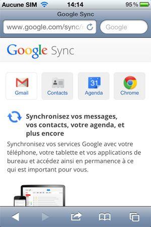 Comment synchroniser Google Agenda sur le calendrier de votre iPhone 5