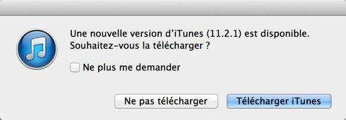 Mettez à jour iTunes
