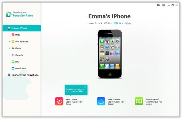 gerer iphone sans itunes