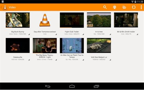 Les 5 meilleures Android Video Player