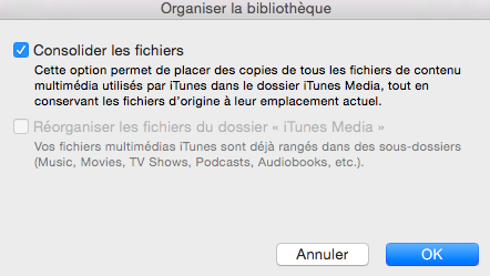 Astuces pour sauvegarder une bibliothèque iTunes