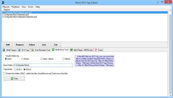 Multi ID3 Tag Editor