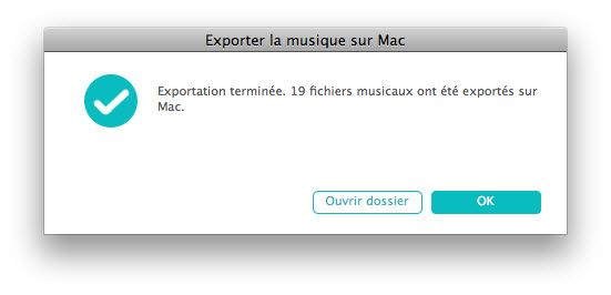 transferer musique iphone vers mac