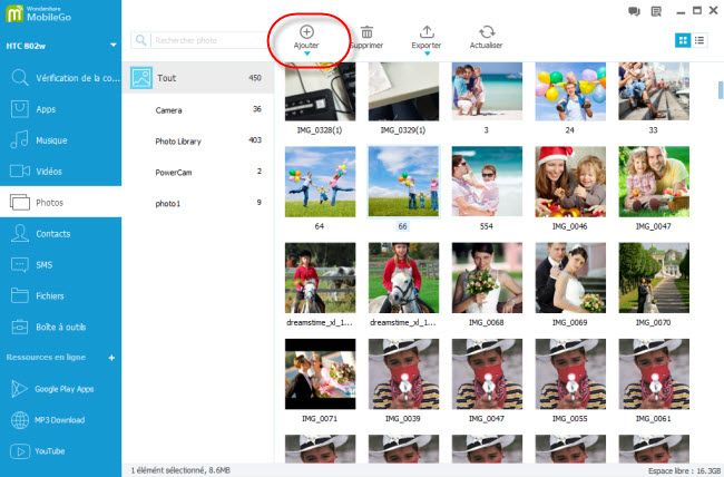 comment transf u00e9rer des photos de l u0026 39 ordinateur vers nexus 7