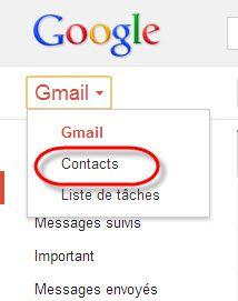transferer contact Nokia