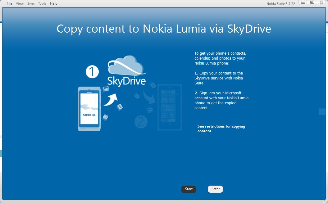 Transférer librement des données à partir d'un Nokia vers un Windows Phone