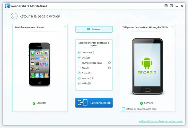 iphone vers android