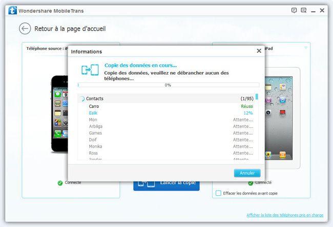 transférer photo iphone vers ipad