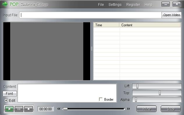 editeur video