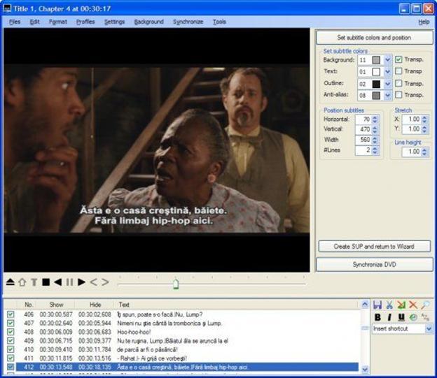 Editeur vidéo SubtitleCreator