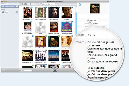TidyMyMusic pour Mac key feature
