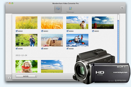 Video Converter Pro pour Mac key feature