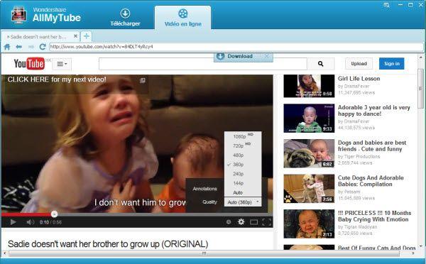 Télécharger et convertir des vidéos SWF en MP4