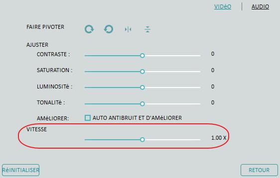 video accélérée