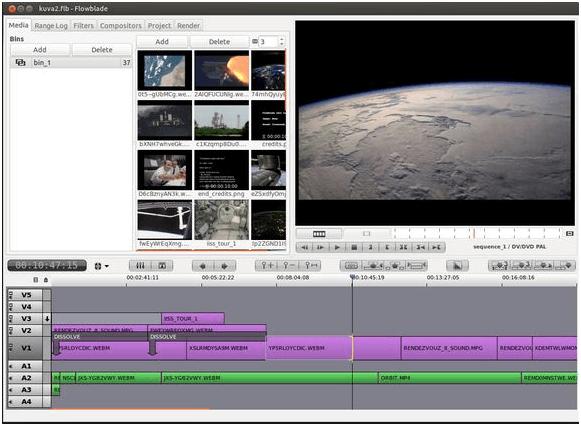 Editeur video pour Linux