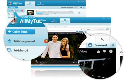 AllMyTube key feature